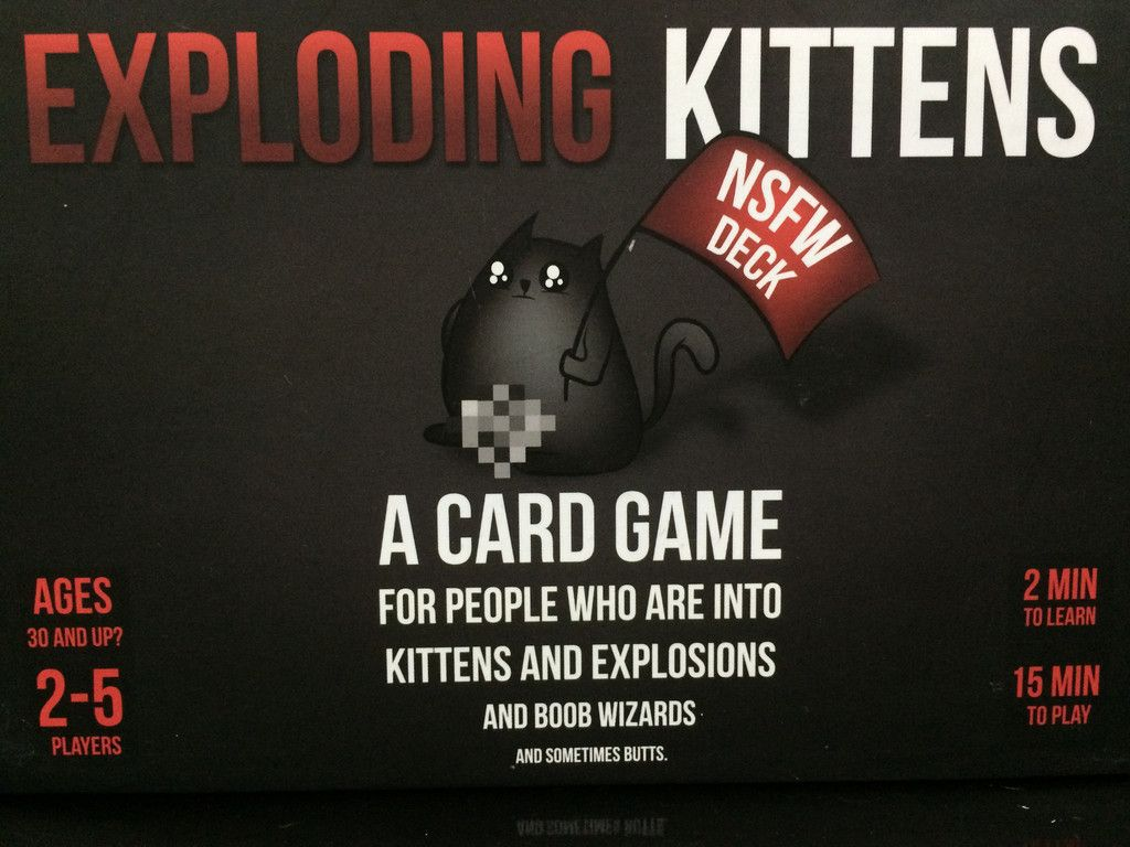 Exploding Kittens: NSFW Deck