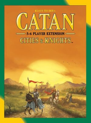 Catan: Cities & Knights - 5-6 Player Extension