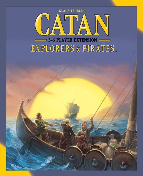 Catan: Explorers & Pirates - 5-6 Player Extension